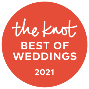 Winner of the Knot Best of Weddings 2021